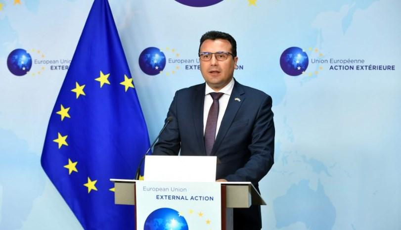 На Заев му биле ветени преговори со ЕУ