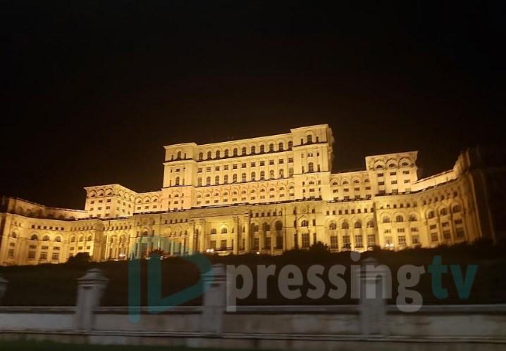 Парламентот во Букурешт сведочи за времето на Чаушеску (ФОТО)
