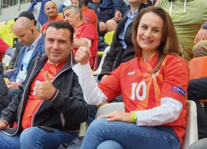 Заев со сопругата и најскапиот адвокат во Букурешт