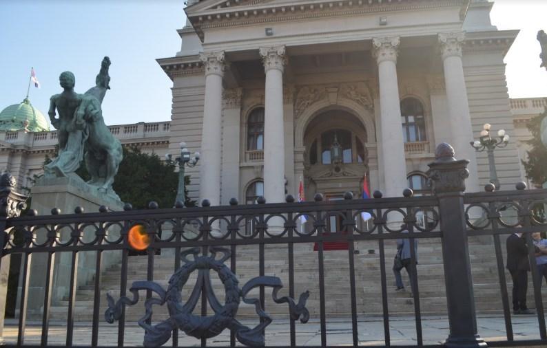 """Оваа ограда ја красеше вилата """"Билјана"""" во Охрид, сега е вратена во Белград откаде била извадена"""