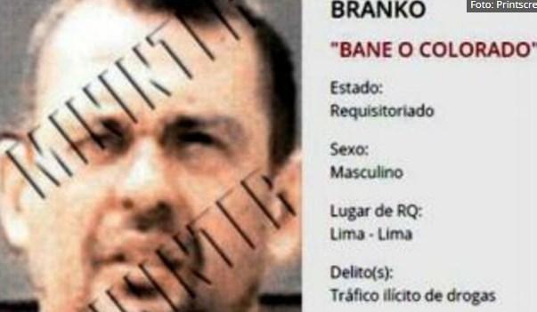 """Се бара Бранко Колорадо: """"Сарма"""" го контролира шверцот на кокаинот од Перу во Европа"""
