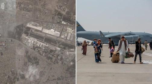 15 повредени: Бомбаш самоубиец активираше бомба на аеродромот во Кабул (ВИДЕО)