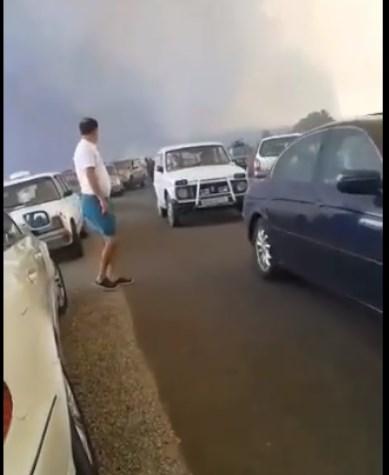 Голем пожар: Затворен патот Делчево-Пехчево,жителите очајно молат за помош (ВИДЕО)