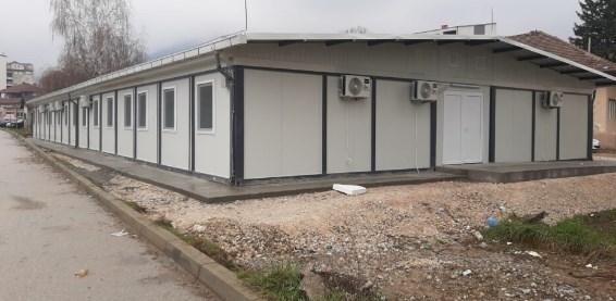 Запрена изградбата на три модуларни амбуланти во Скопје
