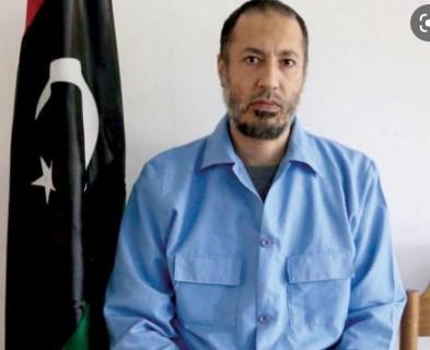 Синот на Гадафи лежеше во затвор за убиство на фудбалски тренер