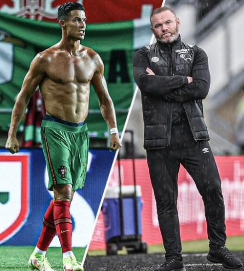 И двајцата имаат по 36: Погледнете ја разликата меѓу Роналдо и Руни (ФОТО)